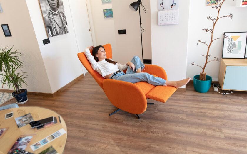 Mondrian Recliner Armchair